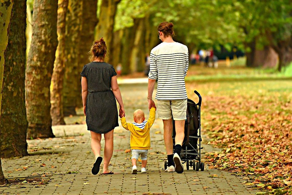 Att skiljas med barn